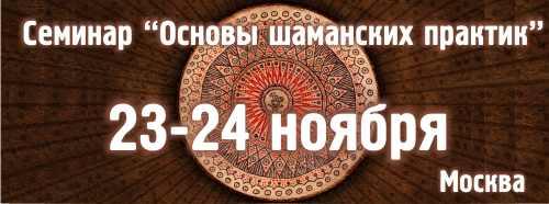шаманский семинар москва