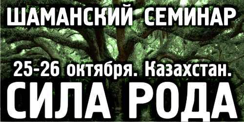 шаманский семинар СИЛА РОДА